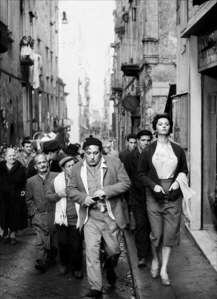 Sophia E I Luoghi Napoletani Della Filmografia Valerio